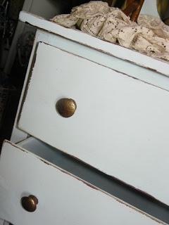 Turquoise Treasure: Turquoise Painted dresser