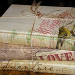 A new look….for an old book. Uses for old books