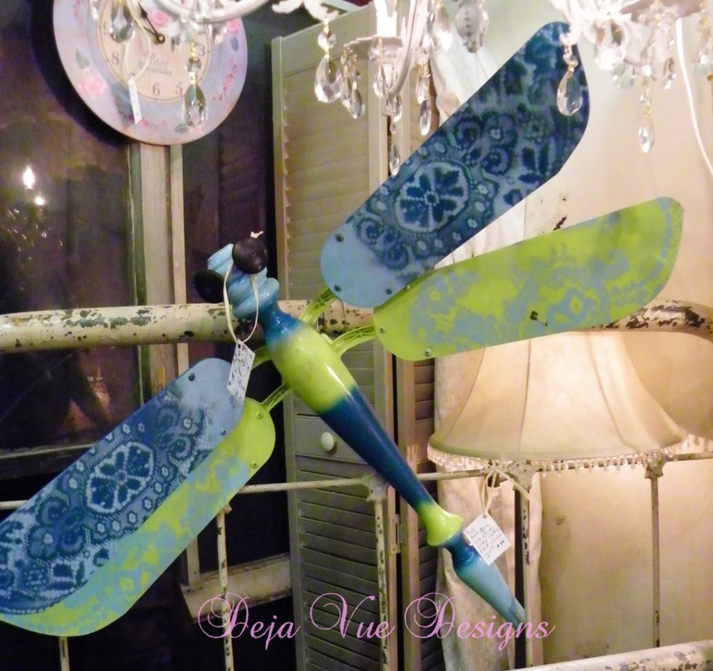 The Making Of The Salvaged Dragonflies