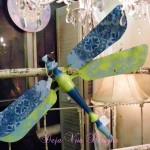 More Dragonflies…and a Lace Tutorial