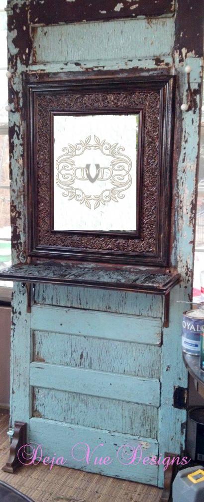 Chippy old door