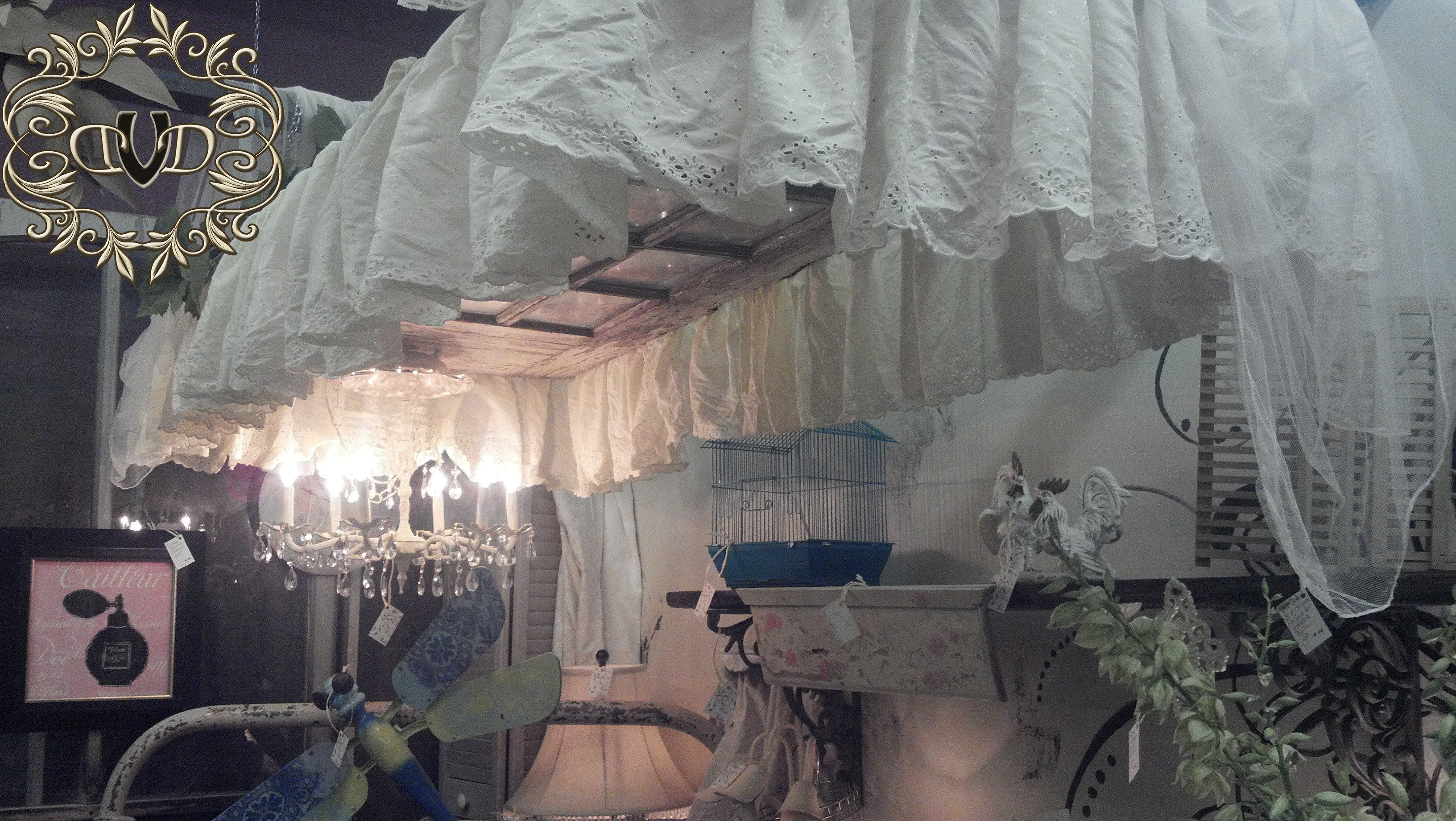 Bed Canopy from an old door
