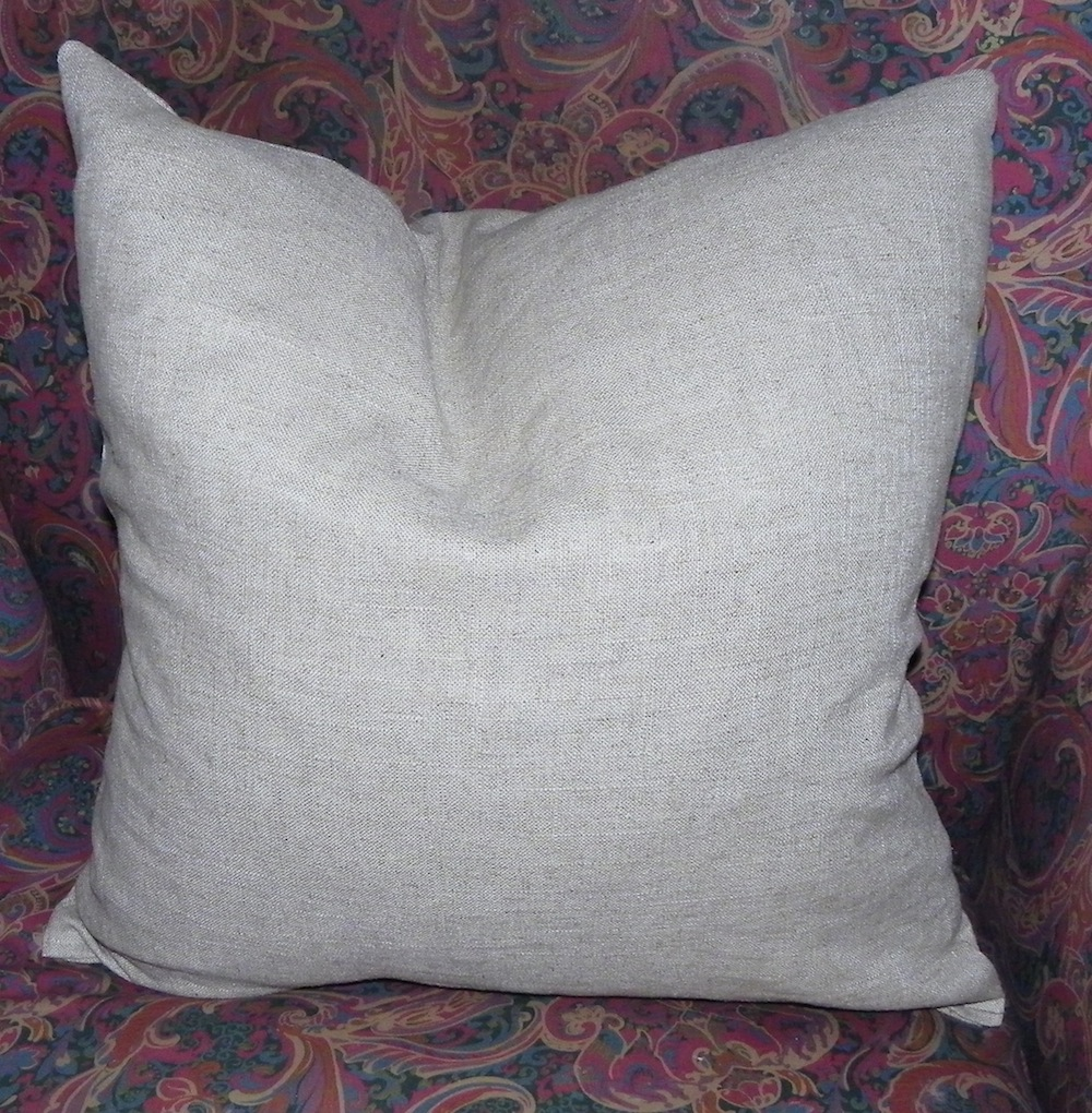 linen pillow insert