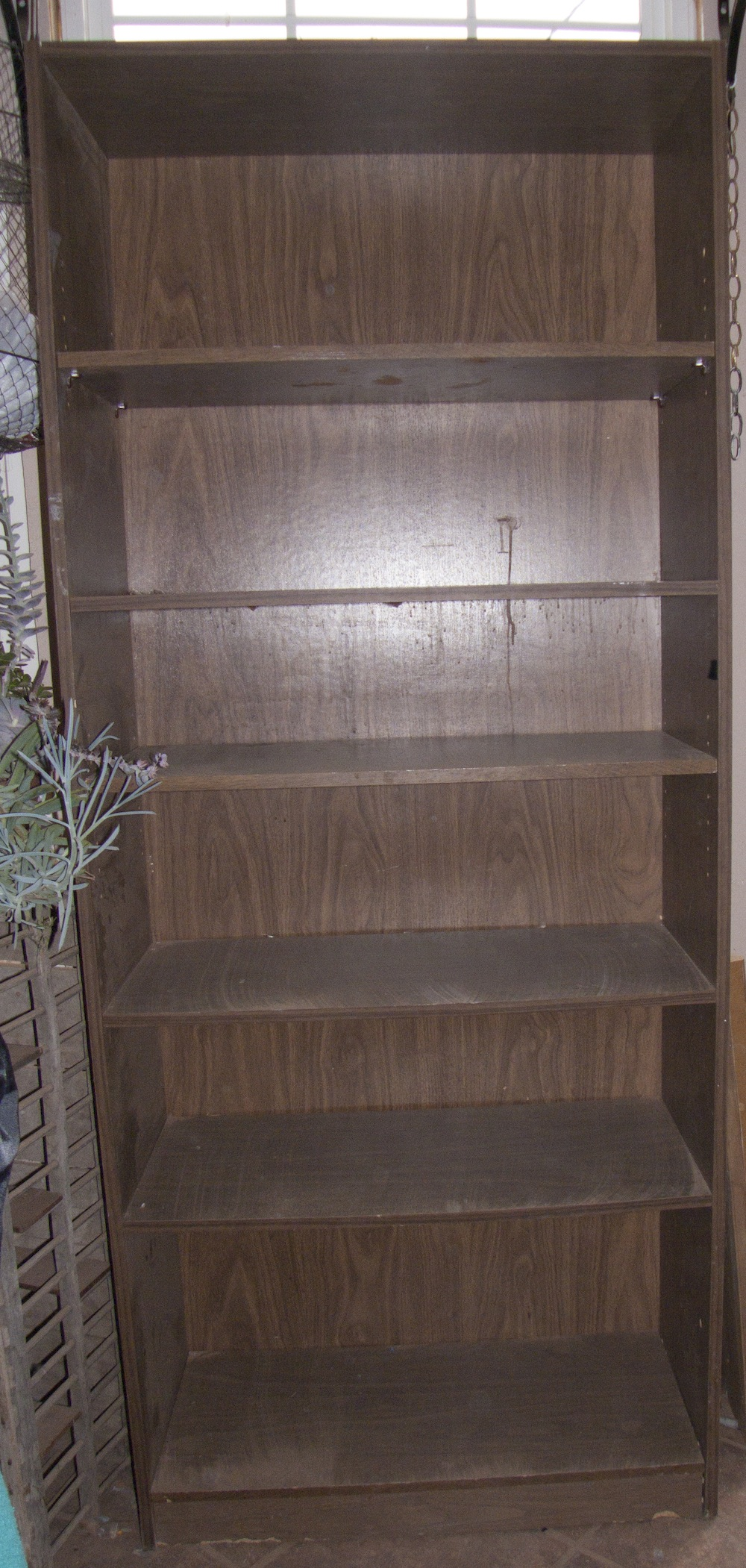 Cutomizing a Goodwill Bookcase