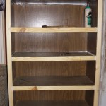 How to turn a Goodwill bookshelf into a custom bookshelf