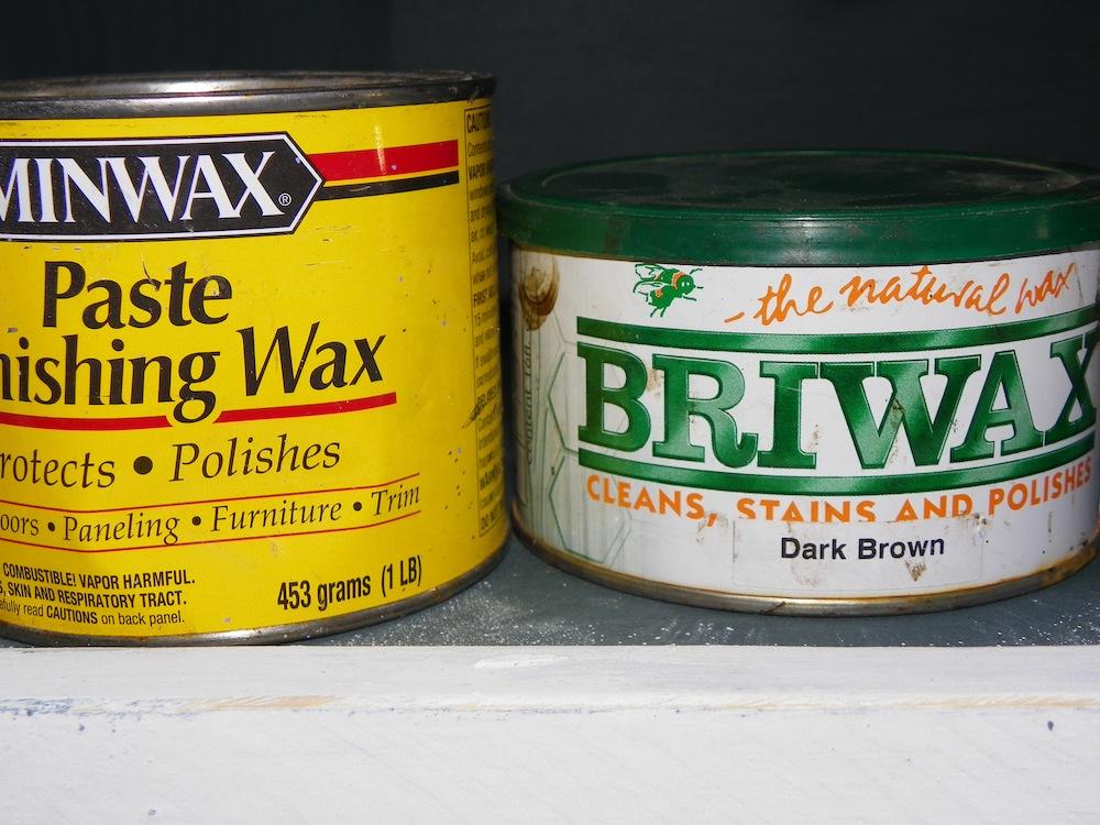 wood paste wax