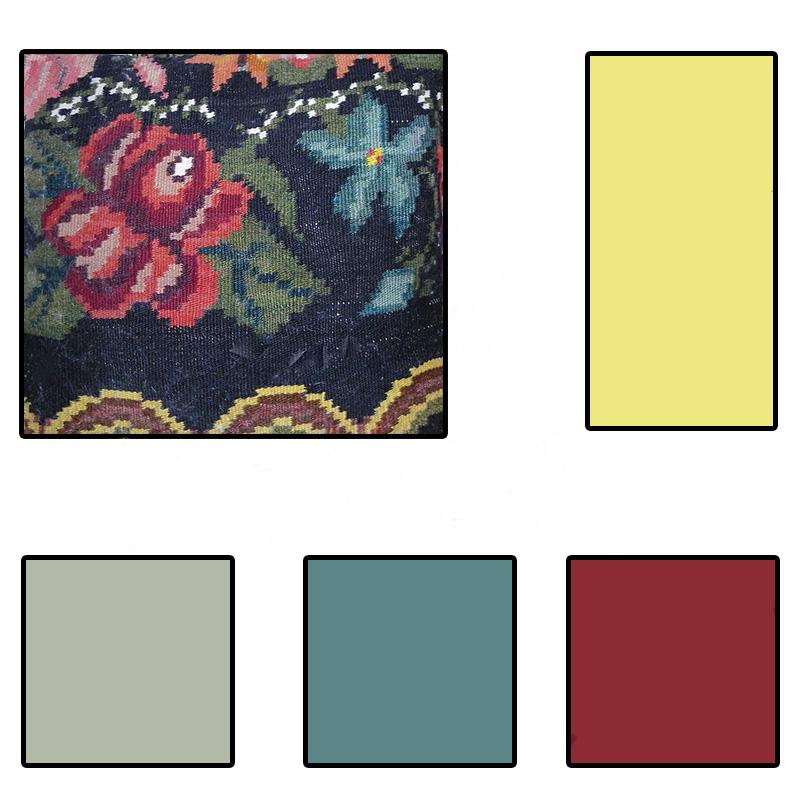 pillow paint palette