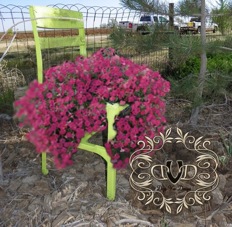 flowerpot chair