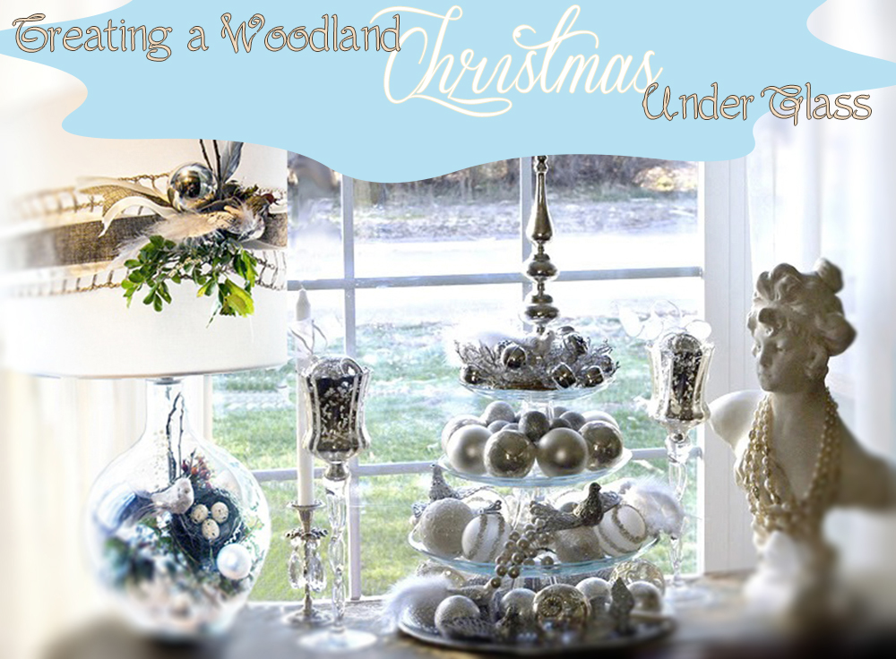 Creating a Woodland Christmas under Glass