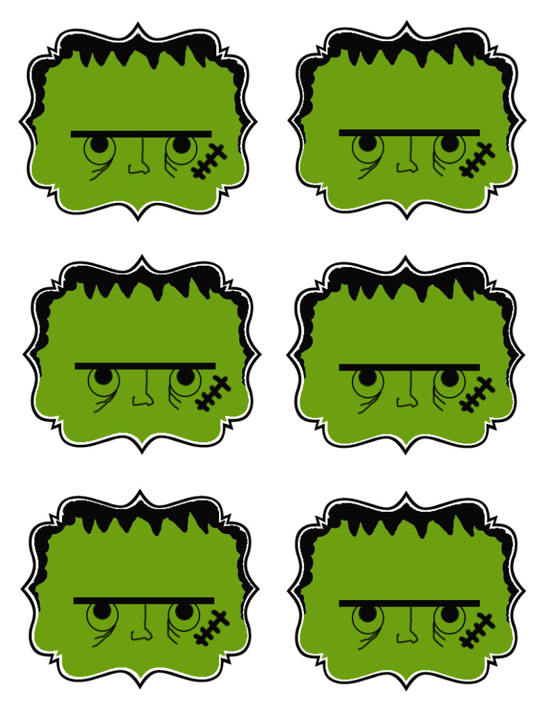 Fun halloween gift tags deja vue designs negle Image collections