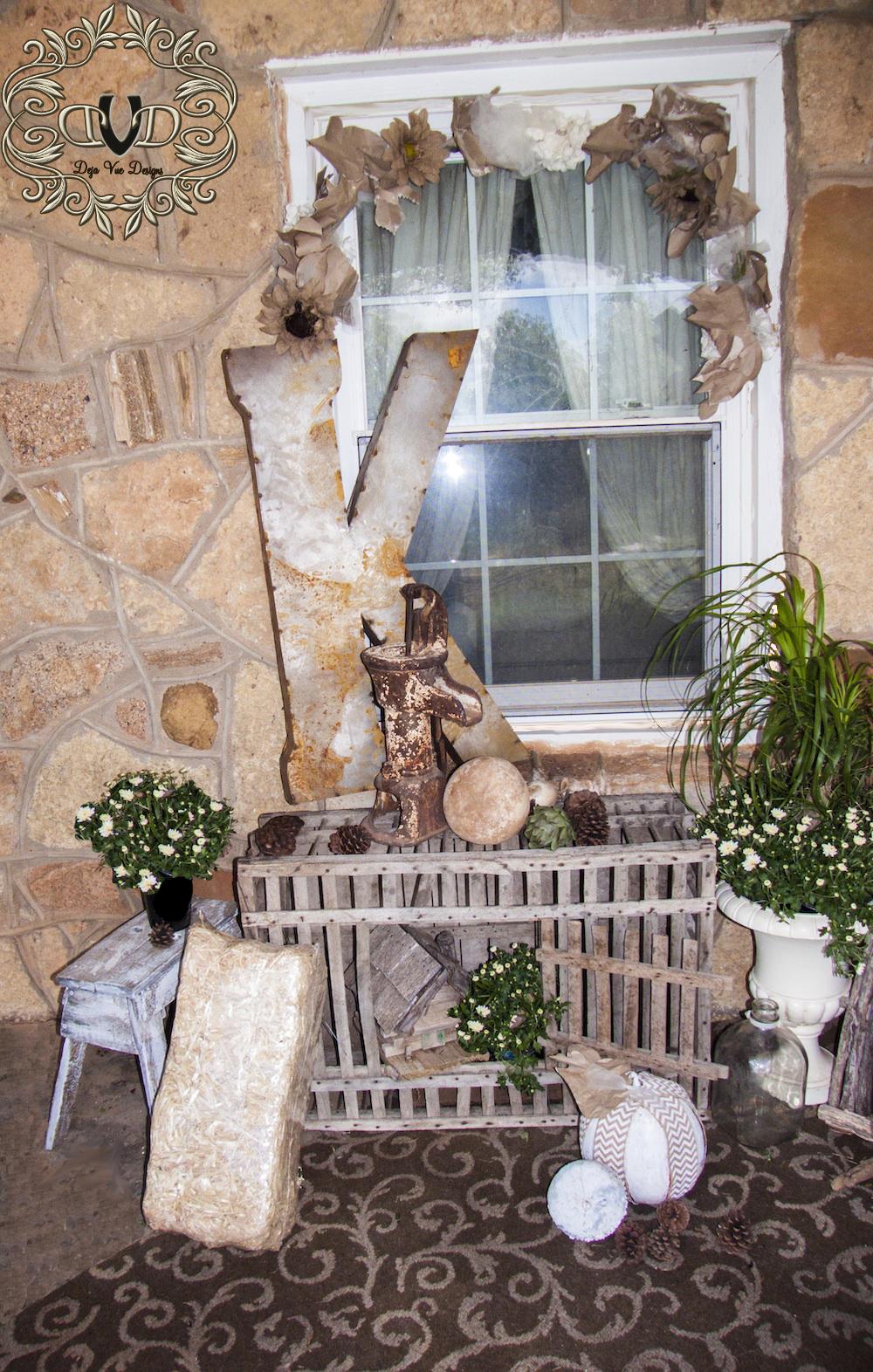 Cottage Porch in White