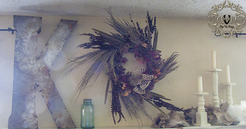 seed head wreath