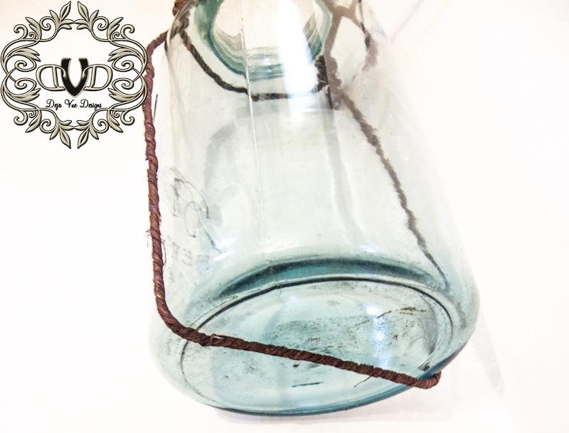 DIY Grapevine Mason Jar