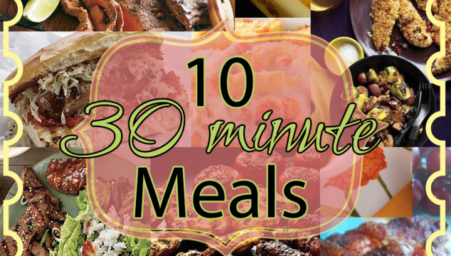 30 minute meals for winter nights
