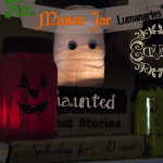 Three fun Mason Jar Luminaries