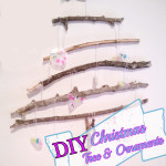 A Fun Childrens DIY Christmas Tree and Ornaments