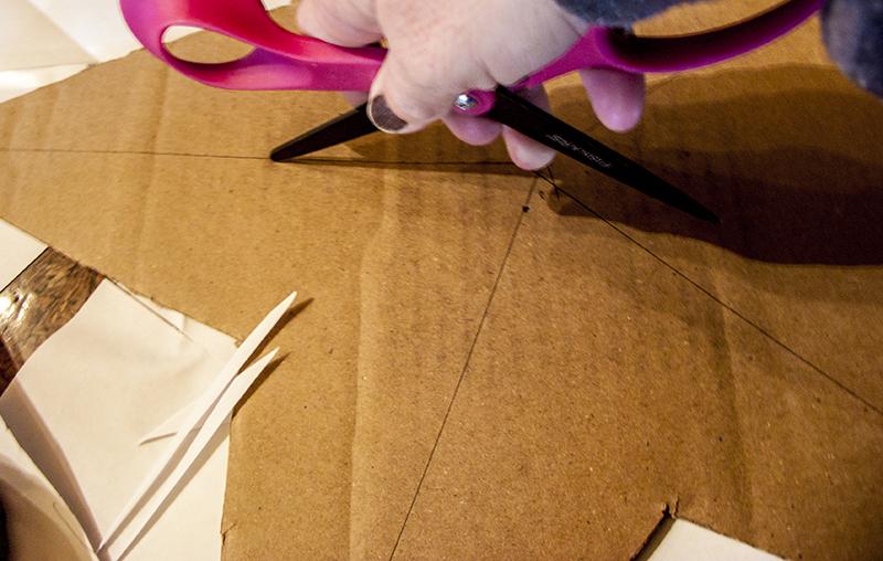 DIY Cardboard 3-D Star
