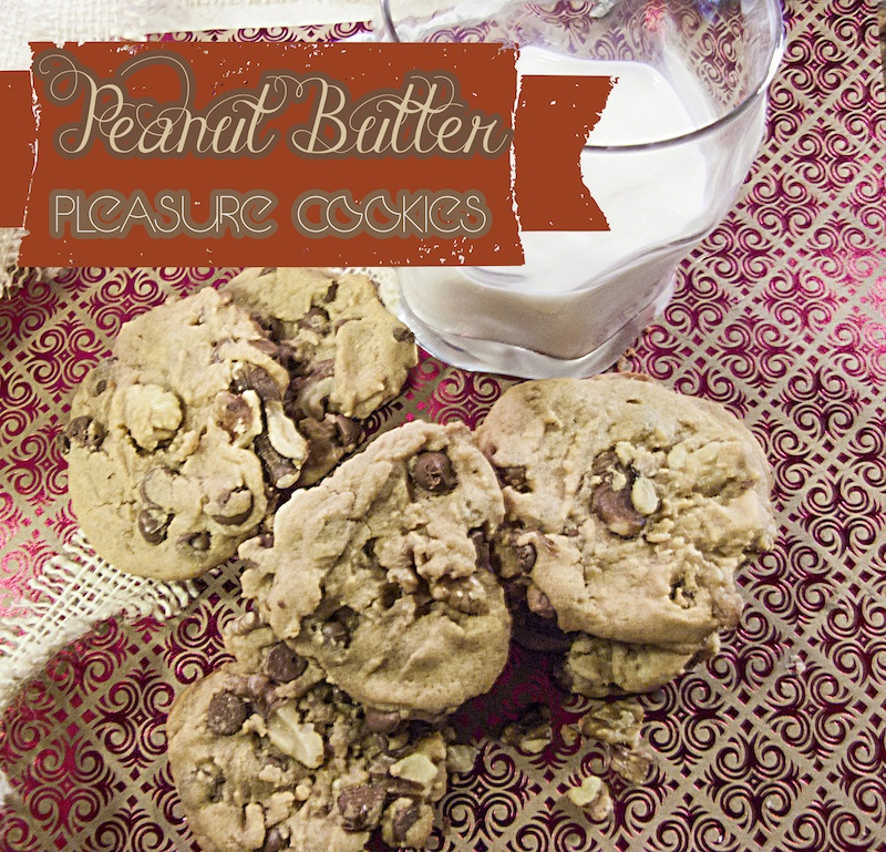Peanut Butter Pleasure Cookies