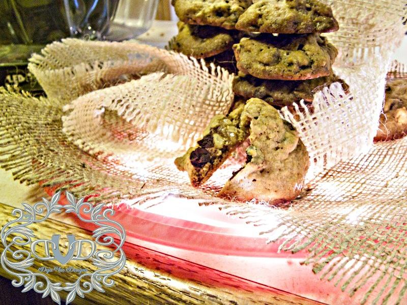 Peanut Butter Pleasure Cookies