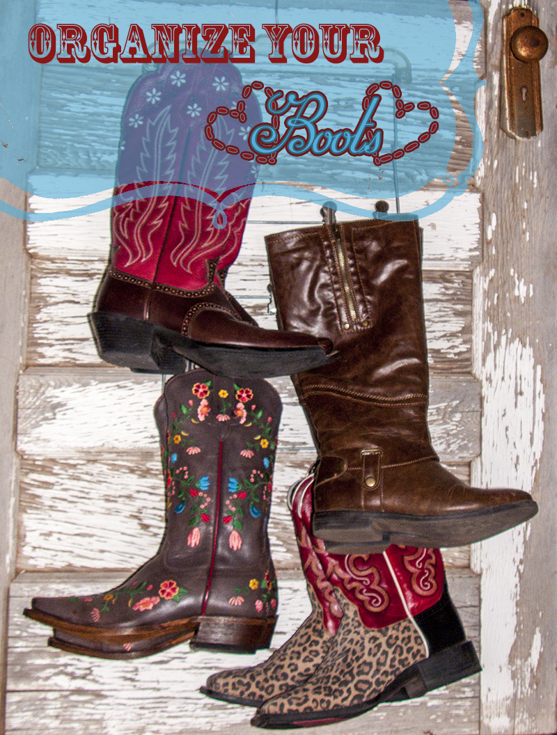 Organizing Boots