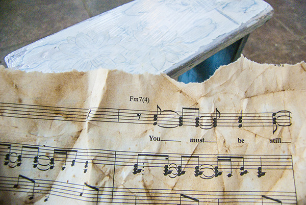 Chippy Sheet Music Step Stool