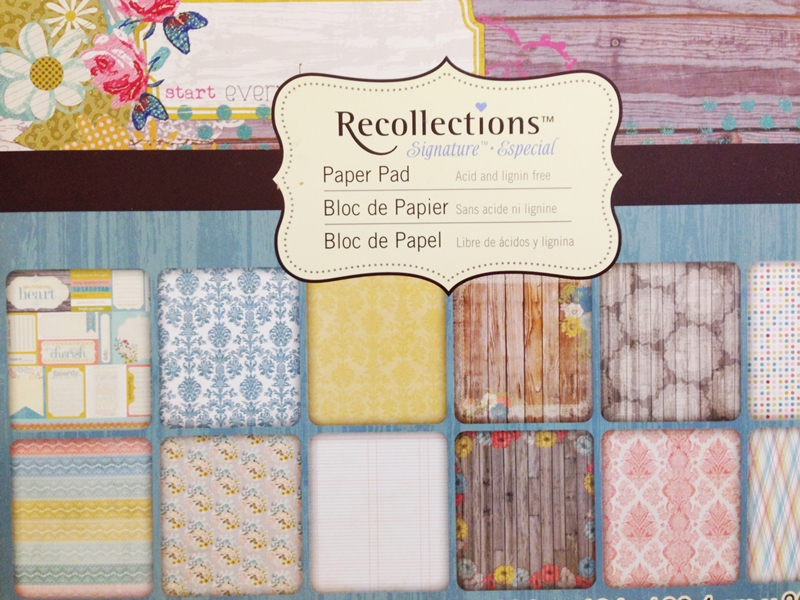 Recollections Paper Pad