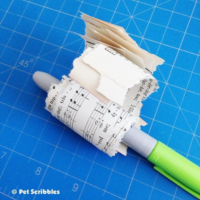 Victorian Paper Cone DIY (10)