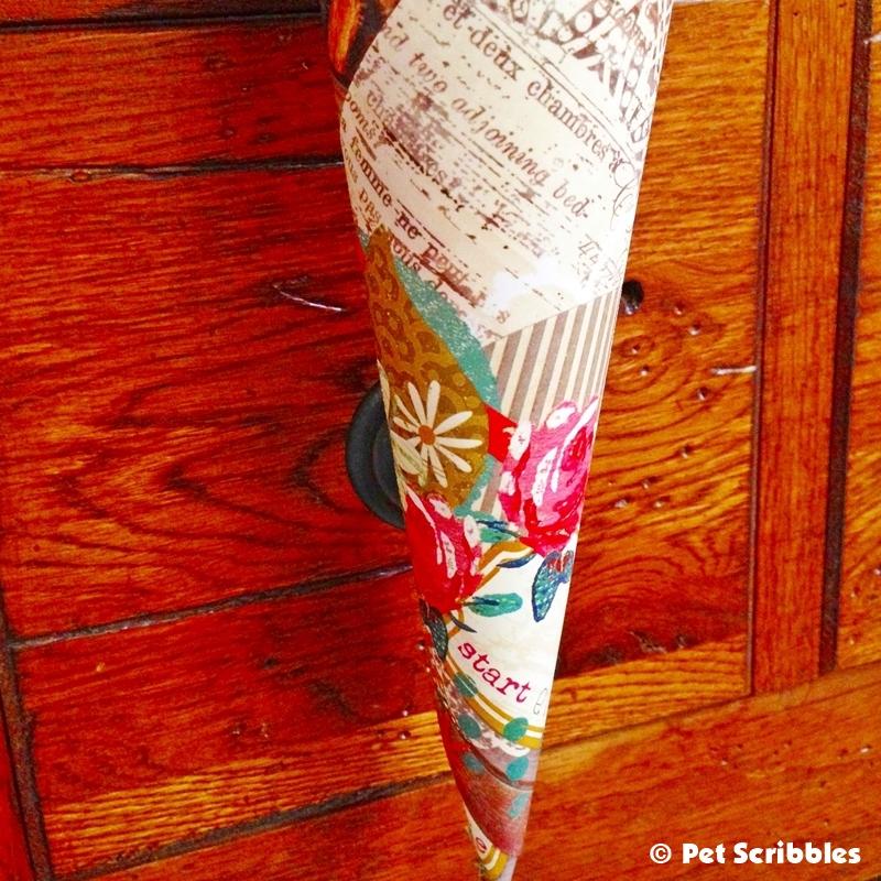Victorian Paper Cone DIY (13)