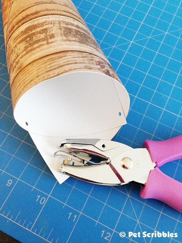 Victorian Paper Cone DIY (4)