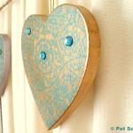 Gilded Heart Garland DIY