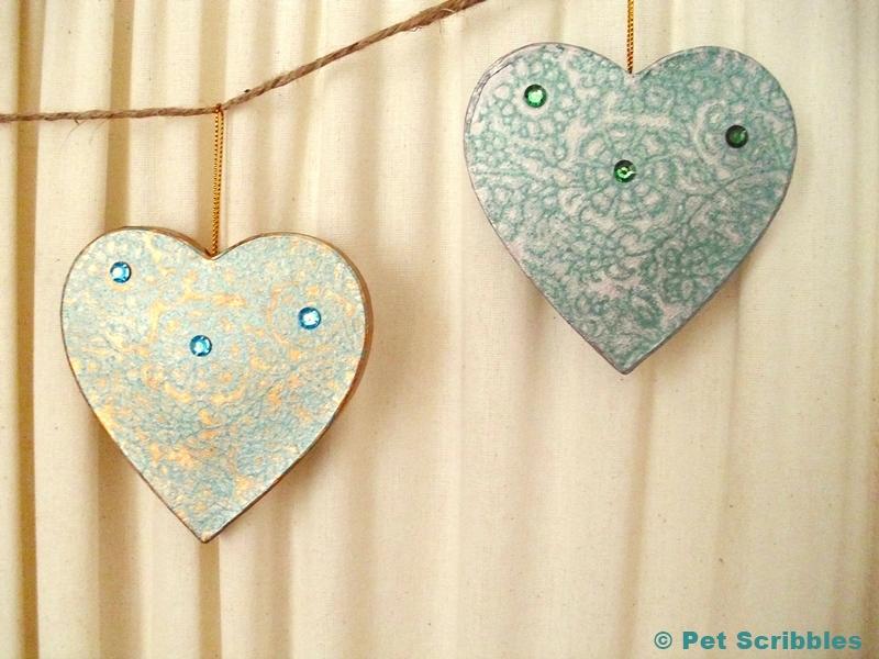 Gilded Heart Garland DIY (9)