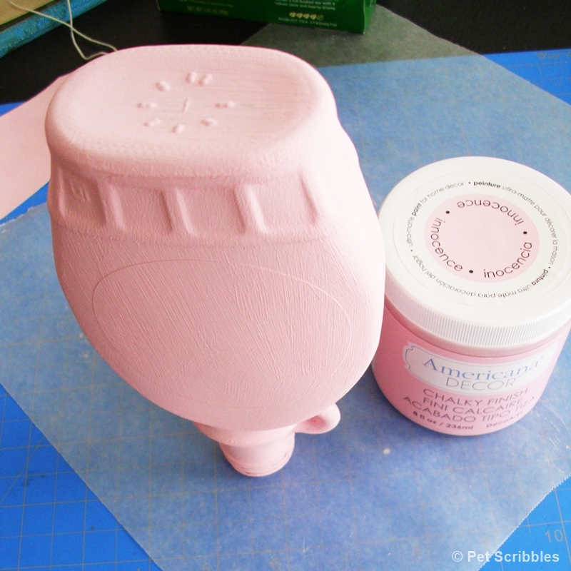 Shabby Altered Bottle DIY (2)