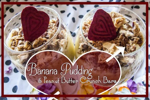 Homemade Banana Pudding & Peanut Butter Wafers