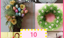 10 Easter Wreath Ideas
