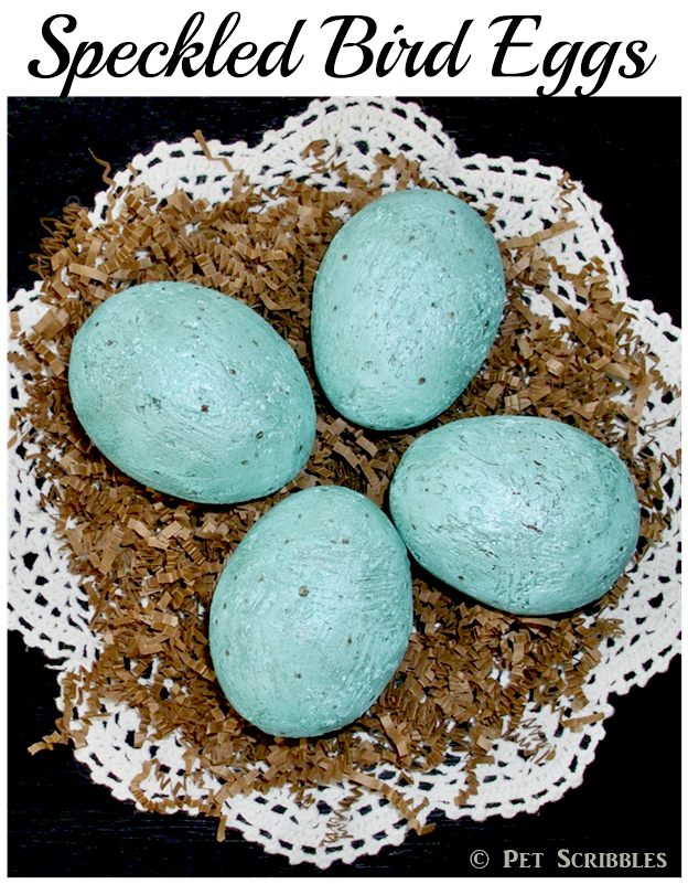Speckled Bird Eggs DIY - a fun Spring craft!