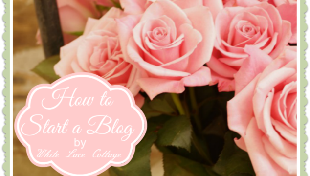 How to Start a Blog at Dejavue Designs