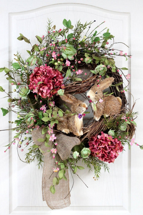 10 Fabulous Easter Wreath Ideas