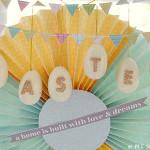 Easy Monogrammed Easter Eggs