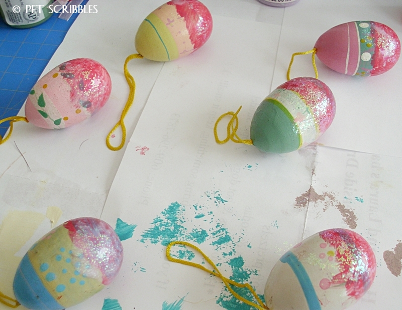 Have some Easter eggs you're not thrilled with? Give them a makeover!
