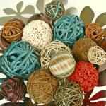 DIY: Dyed Vase Fillers