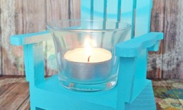 Mini Adirondack Chair Votive