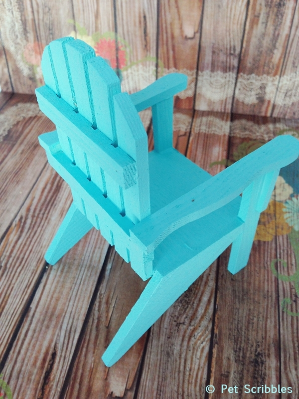 Painted Mini Adirondack Chair