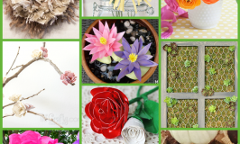 Faux Flowers: 10 Creative DIYs