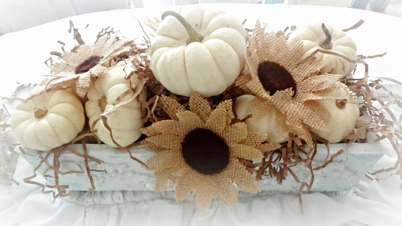 DIY Burlap Sunflowers Tutorial by For the Love of White