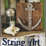 Twirl and Take a Bow and String Art