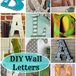 DIY Wall Letters: 16 Awesome Projects!