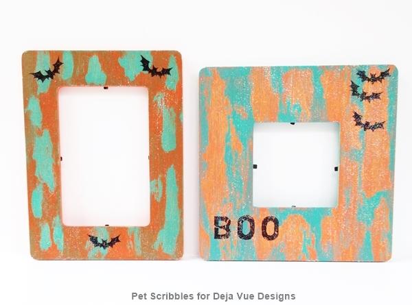 DIY Halloween Frames