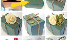 Upcycle a gift box: 8 easy ways!