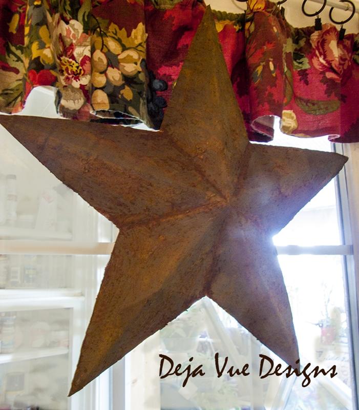 DIY Cardboard Star