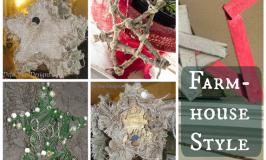 DIY Farmhouse Style Stars